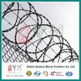 De gegalvaniseerde Omheining van het Netwerk van het Prikkeldraad van het Scheermes/het Militaire Prikkeldraad van het Scheermes van het Concertina