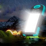 Cargador inteligente / banco de la energía solar / cargador solar para la carga al aire libre