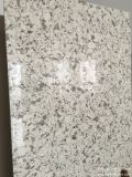 Pierre conçue par surface solide de marbre de brame de quartz de couleur