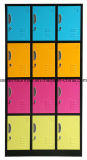 12 de Gymnastiek van de deur/de Kast van het Metaal van het Staal van de School/van het Bureau