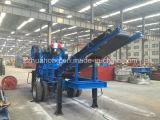 Triturador de pedra móvel da alta qualidade, preço móvel do triturador, planta de esmagamento móvel