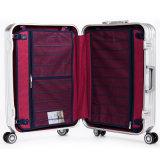 China-Gepäck-Fabrik-Qualitäts-Aluminiumrahmen PC Laufkatze-Gepäck
