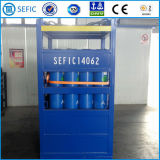 Estante costa afuera del cilindro de gas del estante de Dnv (cilindro Rac de SEFIC)