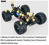 速度80km/Hの金属シャーシリモート・コントロール1/10台の電気RC車ブラシレス4X4
