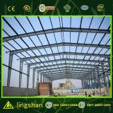 Almacén modular prefabricado del marco de acero