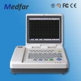 Électrocardiographe de Medfar Mf-Xcm300 3-Channel ECG avec du CE