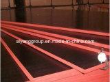 la película negra de 18m m hizo frente a la madera contrachapada de la construcción, madera contrachapada concreta del encofrado en la construcción