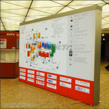 Visualizzazione a finestra piegante portatile della bandiera del basamento del Tradeshow/fiera/mostra/del contesto di qualità poco costosa promozione/di pubblicità