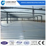 Helles Metallgebäude-Rahmen-Lager/fabrizierte industrielles Stahlkonstruktion-Lager vor