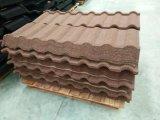 Azulejos de material para techos revestidos del metal de la piedra de la fuente de la fábrica