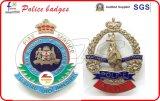 高品質のカスタム警察は帽子のバッジに記章を付ける