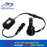 4 측면광 48W 4800lm LED 차 빛 램프