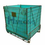 Envase plegable del alambre del objeto semitrabajado del animal doméstico del almacenaje logístico para las botellas
