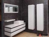 Gabinete de banheiro elevado branco do lustro da qualidade superior de Welbom