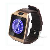 Téléphone intelligent de montre de Bluetooth avec la fente de carte SIM (DZ09)