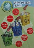 Recycleer de Zak van het Afval van het Hergebruik van de Zak van het Afval
