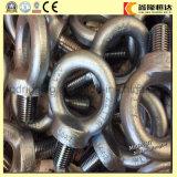 Oeil à queue filetée DIN 580 M48 d'acier inoxydable de prix usine