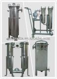 Industrieller Edelstahl-bewegliches Wasser-Kassetten-Filtergehäuse