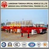 3 Semi Aanhangwagen van de Container van het Skelet van assen 40FT de Rode aan Concurrerende Prijzen