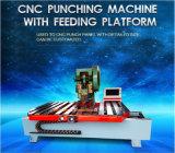 Machine alimentante de poinçon de commande numérique par ordinateur de vente pour la rondelle