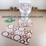 Stuoia di corallo del panno morbido della stanza da bagno eccellente di disegno moderno 3PCS