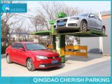 Rotating Single Post Automatic Car Parking System