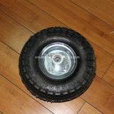 Roda pneumática de borracha do Sell quente (3.50-4)