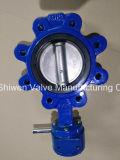 Двухшпиндельная нержавеющая сталь 340/316 типов клапан-бабочка волочения CF8