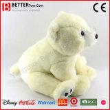 Ours blanc animal de jouet de qualité