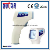A testa 1s dos cuidados médicos jejua o termômetro infravermelho da leitura (franco 907) com LCD
