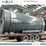 petróleo Diesel de Ouput da planta plástica da refinação 15ton
