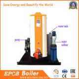chaudière verticale de pétrole de vapeur de gaz 100kg