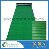 10m linha horizontal verde esteira da borracha