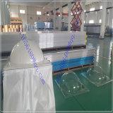 Plaque solide de polycarbonate pour la protection de bande de conveyeur