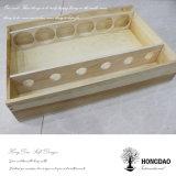 Hongdao 주문품 큰 저장 나무로 되는 포도주 Box_D