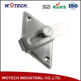 OEMの精密鋳造鋼鉄スライドはPpap中国の鋳物場を受けとる