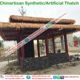 Construit dans la barre maldivienne traditionnelle de hutte de ressource de type de Couvrir de chaume-Toit