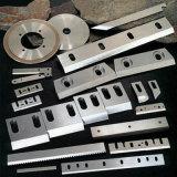 Lâmina do Shredder do triturador para as peças de maquinaria plásticas feitas sob encomenda