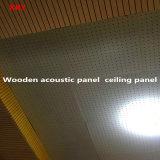 Panneau de mur en bois d'écran antibruit de panneau de plafond de panneau pour le gymnase