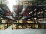 Sistema de múltiples niveles de almacenamiento de entresuelo Almacén paletización