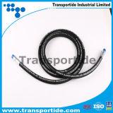 De hydraulische Slangen van de Hoge druk van de Slang R13/Gevlechte Rubber Hydraulische Draad