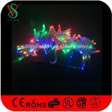 [إيب65] زرقاء [لد] خيط ضوء لأنّ عيد ميلاد المسيح خارجيّة أضواء زخرفة