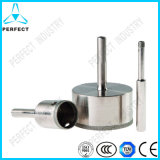 Electrochapar Diamond Hole Saw para Drilling Glass
