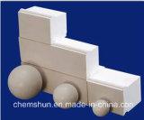Sfera di ceramica abrasiva di 92% - serie macinante di media dell'allumina