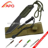 Sobrevivente 106320 Outdoor Fixed Blade Knife 7 Overall com Fire Starter