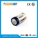 ULのセリウム(ER34615)が付いている3.6V 19ah Dのサイズのリチウム電池