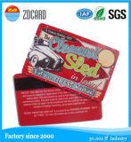 Cartão por atacado do PVC do plástico para anunciar