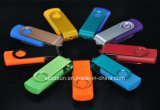 공장 도매에 의하여 주문을 받아서 만들어지는 로고 부피 회전대 USB