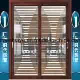 Алюминиевая дверь с хорошим качеством и с проверкой TUV приобъектной