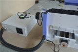 Acryl verschalt MDF-Belüftung-Aluminium 6090 bekanntmachende Tischplattenmini-CNC-Fräser-Maschine